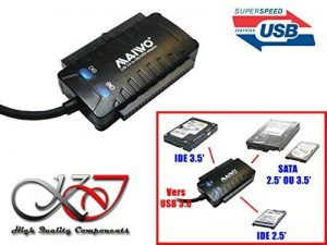 KALEA-INFORMATIQUE © - CONVERTISSEUR ADAPTATEUR IDE ET SATA VERS USB 3.0 (USB3 Superspeed 5Gbps) - CHIPSET HAUTES PERFORMANCES IS611 - Supporte 3 disques en même temps - WINDOWS MAC LINUX de la marque KALEA INFORMATIQUE image 0 produit