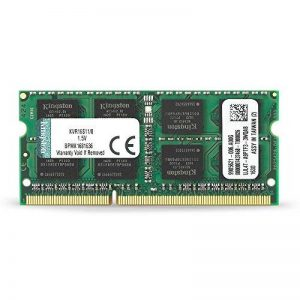 Kingston KVR16S11/8 RAM 8Go 1600MHz DDR3 Non-ECC CL11 SODIMM 204-pin 1.5V de la marque Kingston Technology image 0 produit