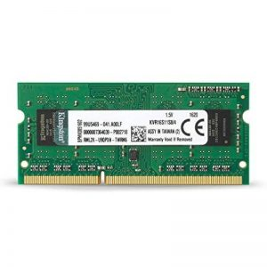 Kingston KVR16S11S8/4 Go SODIMM Value Mémoire RAM 4Go 1600MHz de la marque Kingston Technology image 0 produit