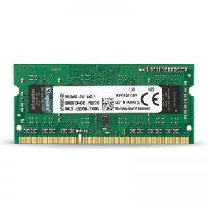 Kingston KVR16S11S8/4 Go SODIMM Value Mémoire RAM 4Go 1600MHz de la marque Kingston Technology image 0 produit