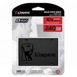 "Kingston SSD A400 - 240GB Disque SSD (2.5"", SATA 3) de la marque Kingston Technology image 3 produit"