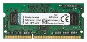 Kingston Technology - ValueRAM KVR16LS11/4 - Mémoire RAM 4Go 1600MHz DDR3L de la marque Kingston Technology image 0 produit