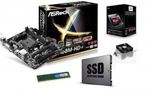 Kit évolution upgrade pc - Processeur AMD + Carte mère AMD + Barrette Mémoire + disque SSD de la marque Marquel image 0 produit