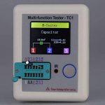 KKmoon Détecteur de Transistor à Affichage Coloré Multifonctionnel, TFT Rétro-éclairage, Détecteur de Didoe Triode Résistance Capacitance, Inductance MOSFET NPN PNP Triac MOS Etalonnage Automatique de la marque KKmoon image 3 produit