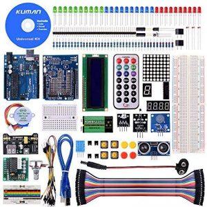 Kuman Projet Super Kit de Démarrage Avec Un Manuel D'utilisation Français Pour Arduino UNO R3 Mega2560 Mega328 Nano K4 de la marque Kuman image 0 produit