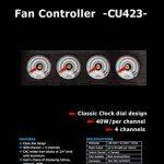 Lamptron cu423Fan Contrôleur 4canaux 5.25pouces–Noir de la marque Lamptron image 3 produit