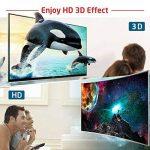 Lecteur DVD Blu Ray USB 3.0 Externe Graveur Bluray 3D, Portable CD DVD Player pour Mac, Windows 7 8 10, PC de la marque PiAEK image 2 produit