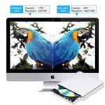 Lecteur DVD Blu Ray USB 3.0 Externe Graveur Bluray 3D, Portable CD DVD Player pour Mac, Windows 7 8 10, PC de la marque PiAEK image 3 produit
