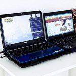 Ledmomo support de refroidissement pour ordinateur portable 14–39,6cm Cooler Pad Chill Mat avec 5ventilateurs Silencieux Forte Vitesse du vent pour jouer à des Jeux et de bureau (Noir) de la marque LEDMOMO image 2 produit