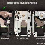 Lentille Laser de Reparation de KEM-496AAA avec Lens Deck KES-496 - Remplacement Blu-ray DVD Bloc Optique and Plateforme Chariot, TR8 Torx Tournevis pour PS4 Slim CUH-20xx and PS4 Pro CUH-70xx de la marque PeakLead image 3 produit