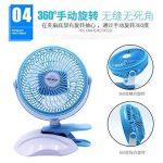 Les fans quatre fleurs feuilles 2 chargement USB mini ventilateur de bureau de la marque JUN petit ventilateur image 3 produit
