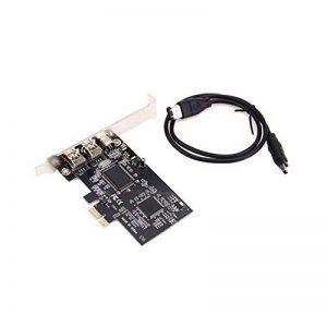 Lovelysunshiny Câble d'extension PCI Via PCI-E FireWire IEEE1394A PCI Express de la marque Lovelysunshiny image 0 produit