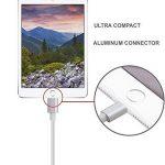 MASUMARK, Câble USB de 100 cm en Nylon avec Connecteur Lightning pour iPhone 6s / 6s Plus / 6 Plus, iPad Air 2 et autres - [Pack de 3] de la marque MASUMARK image 4 produit