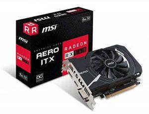 MSI Radeon RX 560 Aero ITX 4G OC - Cartes Graphiques (Radeon RX 560, 4 Go, GDDR5, 128 bit, 7000 MHz, PCI Express x16 3.0) de la marque MSI image 0 produit