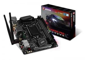 MSI Z270I Gaming Pro Carbon AC Carte mère Intel Mini-ITX Socket LGA 1151 de la marque MSI image 0 produit