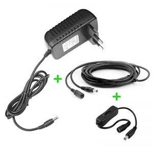 MyVolts Chargeur/Alimentation 12V Compatible avec Disque Dur Externe Packard Bell Carbon 750GB (Adaptateur Secteur) - Prise française - Premium de la marque MyVolts image 0 produit