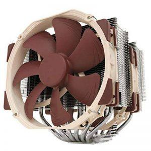 Noctua NH-D15 Processeur Refroidisseur ventilateur, refroidisseur et radiateur - Ventilateurs, refoidisseurs et radiateurs (Processeur, Refroidisseur, Prise AM2, Prise AM2+, Prise AM3, Socket AM3+, Socket FM1, Socket FM2, Socket FM2+, LGA 1151..., 14 cm, image 0 produit