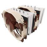 Noctua NH-D15 Processeur Refroidisseur ventilateur, refroidisseur et radiateur - Ventilateurs, refoidisseurs et radiateurs (Processeur, Refroidisseur, Prise AM2, Prise AM2+, Prise AM3, Socket AM3+, Socket FM1, Socket FM2, Socket FM2+, LGA 1151..., 14 cm, image 2 produit