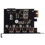 ORICO Carte Contrôleur PCI Express à 4 ports USB 3.0 - Adaptateur PCIe avec Alimentation Câble SATA de la marque ORICO image 3 produit