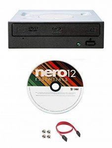 Pioneer BDR-209DBK 16X Blu-Ray CD DVD lecteur interne de lecture 3D + logiciel + câble SATA + IDE Adaptateur SATA de la marque Megalynx image 0 produit