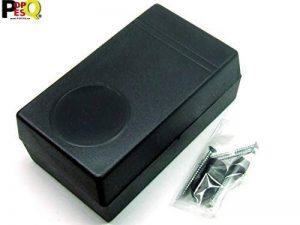 POPESQ® 1 pcs. x Boitier 121x71x45mm avec 4 Pieds Noir Plastique/1 pcs. x Enclosure 121x71x45mm with 4 Legs Black Plastic #A1713 de la marque POPESQ® image 0 produit