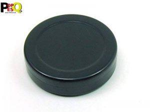 POPESQ® 1 pcs. x Boitier 70x18mm Rond Noir Plastique/1 pcs. x Enclosure 70x18mm Round Black Plastic #A1716 de la marque POPESQ® image 0 produit