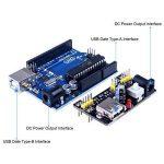 Quimat Arduino Kit,Professionnel Projet Kit de Démarrage le Plus Complet Mode d'emploi avec Guide d'utilisation Français pour Kit Arduino UNO R3 NANO de la marque Quimat image 3 produit