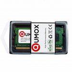 QUMOX 8 Go (2x 4 Go) DDR3 1600 4 Go PC3-12800 SO-DIMM PC3 RAM memoire d'ordinateur portable 204pin CL11 de la marque QUMOX image 1 produit