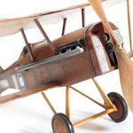 RAF SE5a WWI Bi-plane model airplane complete vintage model rubber-powered balsa wood aircraft kit that really flies! by Vintage Model Co. de la marque The Vintage Model Company image 3 produit