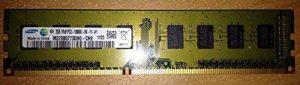 RAM PC DDR3-1333 Samsung PC3-10600U 2GB CL9 M378B5773DH0-CH9 Module Mémoire Vive de la marque Samsung image 0 produit