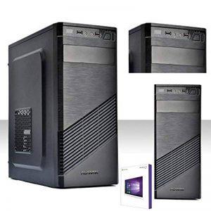 Realtechnology Ordinateur Intel Quad Core avec licence Windows 10professioanal 64bit originale/HD 1To/RAM 8Go DDR3/recettes HDMI-DVI-VGA/USB 3.0,2.0, audio, vidéo, LAN/rw-dvd LG/PC fixe complet, bureau, maison, école, social network Vultech 1696 de la image 0 produit