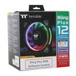 Riing Plus 12 RGB Radiator Fan TT Premium Edition 5 Pack de la marque Thermaltake image 1 produit