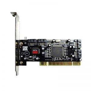 Rokoo PCI à 4 Ports SATA Serial ATA Raid Sil3114 3114 Carte contrôleur E/S de la marque Rokoo image 0 produit