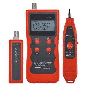réseau LAN testeur de téléphone Fil tracker USB câble coaxial 1394RJ45RJ11USB BNC Nf-838 de la marque Cruiser image 0 produit