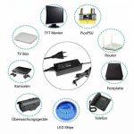 Salcar (12 V 10 A) Bloc d'alimentation 120W pour LED 5050/3528/5630, caméra, lecteurs de DVD, routeurs, écrans TFT-LCD, radio, Bitcoin Miner, purificateurs d'air, radio Sony externe, LCD, éclairage de bande LED, caméra de sécurité picoPSU, disques durs, image 1 produit