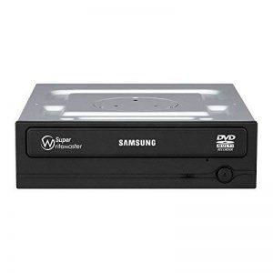 Samsung SH-224FB/disques optiques 24x Graveur DVD Interne avec SATA, Retail Box et 3façades de la marque Samsung image 0 produit