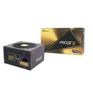 Seasonic Focus Plus - Bloc d'alimentation modulaire Complet - Or 750 W - 80 Plus de la marque Seasonic image 0 produit