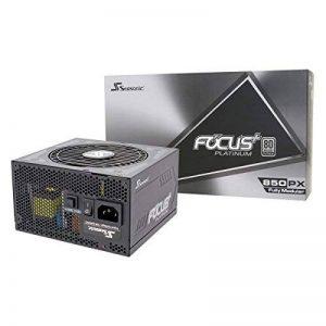 Seasonic Focus Plus - Bloc d'alimentation modulaire Complet - Platinum 80 Plus - 850 W de la marque Seasonic image 0 produit