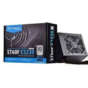 Silverstone SST-ST60F-ES230 - Série Strider Essential, 600W 80 Plus 230V EU ATX Alimentation PC, Bruit réduit, 120mm de la marque SilverStone Technology image 0 produit