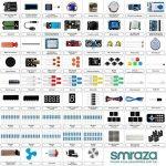 Smraza Arduino-Compatible Carte UNO R3 Starter Kit pour Débutant avec Capteur à Ultrasons Plus Complet avec Guide d'Utilisation Pour Kit d'apprentissage(67 articles) de la marque Smraza image 2 produit