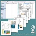 Smraza Arduino-Compatible Carte UNO R3 Starter Kit pour Débutant avec Capteur à Ultrasons Plus Complet avec Guide d'Utilisation Pour Kit d'apprentissage(67 articles) de la marque Smraza image 1 produit