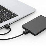 Sonnics 1 TO gris foncé Disque dur externe portable USB 3.0 Super rapide Vitesse de transfert pour une utilisation avec un PC Windows, Apple Mac, Xbox One et PS4 de la marque Sonnics image 2 produit