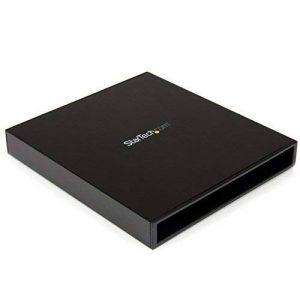 StarTech.com Boîtier USB 3.0 externe pour lecteur Blu-ray / DVD SATA slim - Boîtier pour lecteur optique en aluminium de la marque StarTech.com image 0 produit