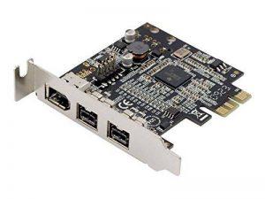 Syba Carte PCI-Express 2 ports 1394B, 1 port 1394A Support Low Profile (Import Royaume Uni) de la marque Syba image 0 produit