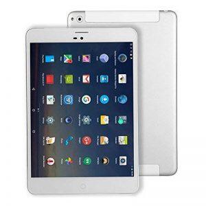 Tablette Tactile Carte SIM Android - Winnovo M798 7.85 Pouces Quad-Core Débloquée 4G LTE Tablette Téléphone 1GB de RAM+ 16GB de Stockage Résolution de 1024x768 IPS Double Camera Batterie de 3600mAh WIFI Bluetooth GPS YouTube Netflix myCANAL (Argent) de la image 0 produit