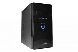Tacens Anima AC0500 - Boîtier d'ordinateur de bureau (mini-tour, ATX, comprend une alimentation de 500 W, 4 connecteurs d'extension, USB 2.0, audio HD), couleur noire de la marque Tacens image 0 produit