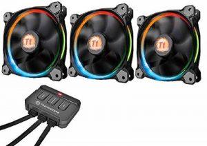 Thermaltake - Riing 12 RGB - Ventilateur PC LED RGB (Pack de 3) RGB Edition de la marque Thermaltake image 0 produit
