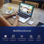 TOPELEK Lecteur/Graveur Blu Ray Externe USB3.0, Lecteur Blu Ray CD DVD,Graveur DVD CD Externe utra-Slim pour Apple MacBook, Pro, Air, Toutes Les Mac Os syst¨¨Mes, Windows XP, Vista, 7, 8, etc. de la marque TOPELEK image 3 produit