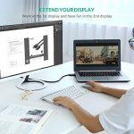 UGREEN Câble DisplayPort vers HDMI 4K UHD Adaptateur DP vers HDMI 1080P Connecteus Plaqués Or pour Dell, Thinkpad, Carte Graphique, GeForce vers TV, Télé, Projecteur, Moniteur (2 M) de la marque UGREEN image 3 produit