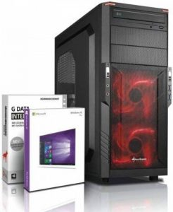 Ultra 6-Core DirectX 12 PC Gamer - Unité centrale Gaming FX 6300 6x4.10 GHz Turbo - GeForce GTX 1050 DDR5- Mémoire RAM 8Go DDR3 1600 - Stockage 2000Go HDD - Windows 10 Pro - Lecteur/Graveur DVDRW #5321 de la marque Shinobee image 0 produit